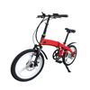 20 Inch Folding City Electric Bike with Hidden Battery